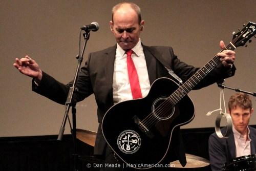 Wayne Kramer plays at Lincoln Center.
