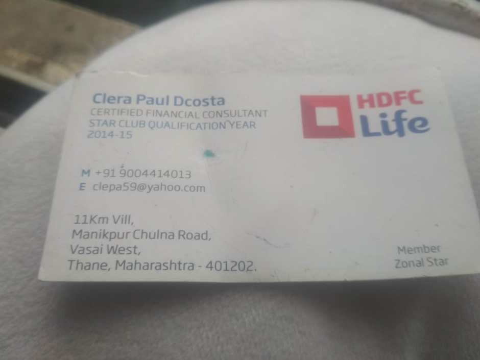 HDFC Life Financial Consultant