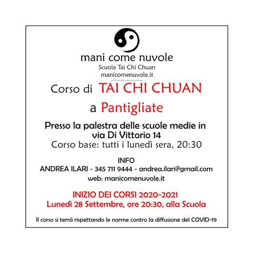 Tai Chi Chuan - Pantigliate - info corso
