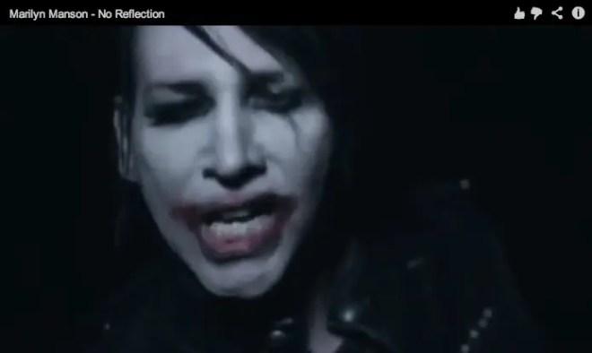 Marilyn Manson 新作より「No Reflection」PV
