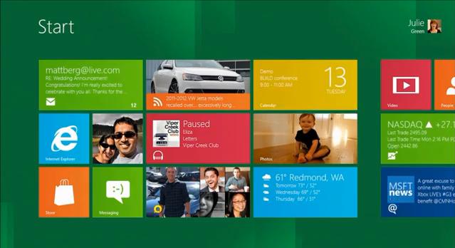 Windows 8が本当に好きなんですよ!とくに直感操作インターフェース「Metro UI」が。