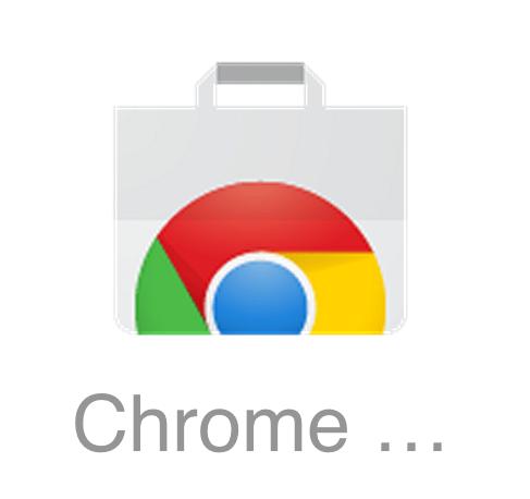 Chrome Web Store のロゴが変わってるやーん。