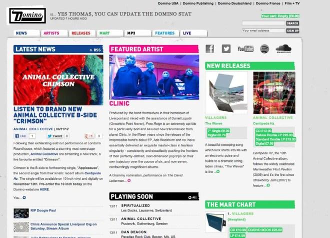 海外音楽レーベルのサイト 11選 | WEBサイトデザインまとめ