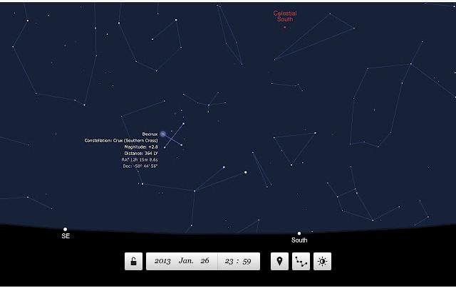 Chrome ウェブストア 星空が見れるアプリ Planetarium