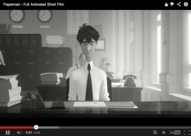 『紙ひこうき』(Paperman) ディズニー短編アニメ | 第85回アカデミー賞にもノミネート!