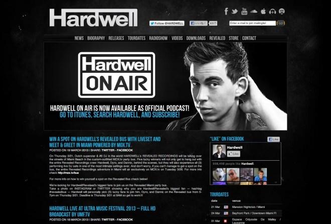 Hardwell   DJ Mag Top 100で6位にランクインした実力派DJ