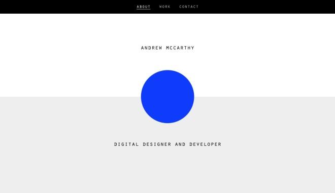 Andrew McCarthy Freelance Web Designer Berlin ✍