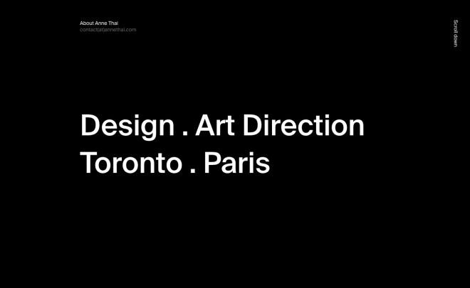 Anne Thai Design Art Direction
