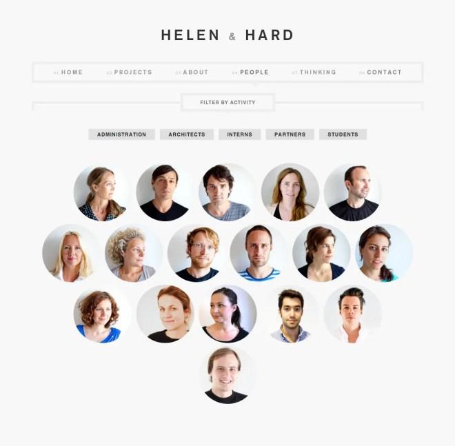 HELEN & HARD おしゃれな建築・プロダクトデザイン事務所 | 海外のイケてるサイトデザイン