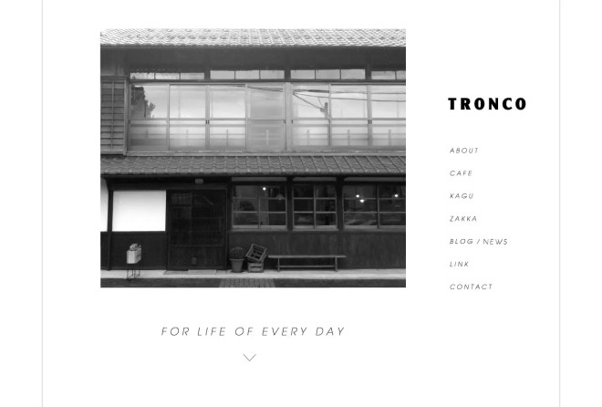 TRONCO|篠山のカフェ・雑貨店