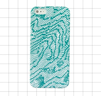Kate Spade Saturday IPHONE 5 CASE IN TOPOGRAPHY