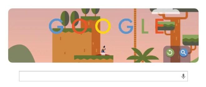 2013年10月22日のGoogleホーム画面