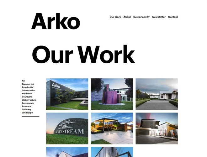 Arko Our Work