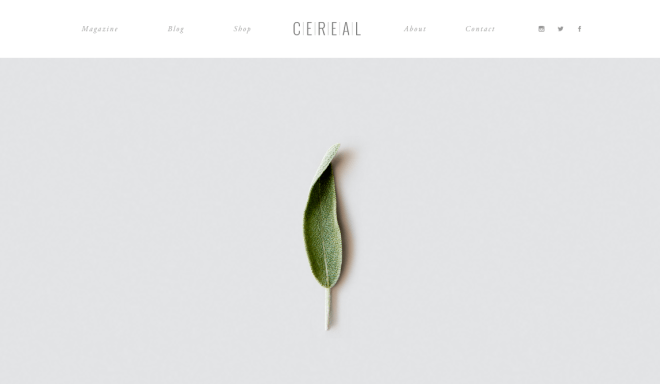 Cereal Magazine In pursuit of food travel