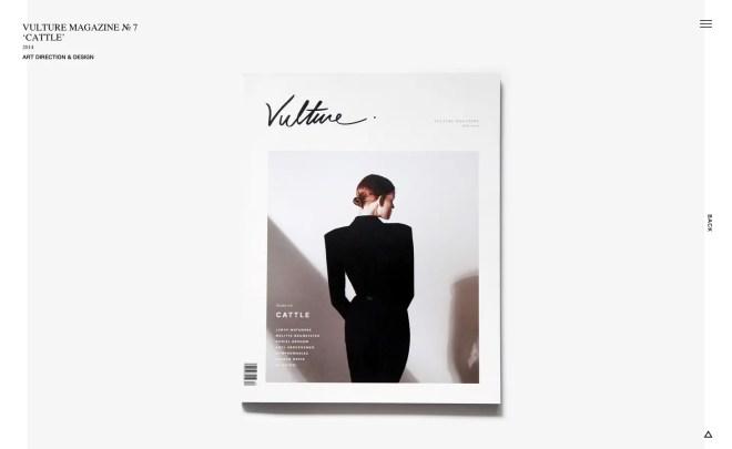 KITCHEN. LABEL Vulture Magazine № 7 Cattle
