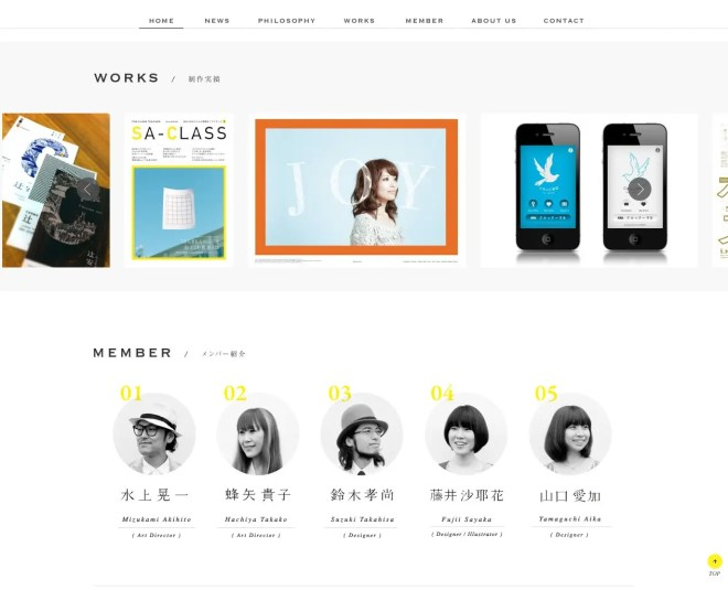 cluch.jp Works