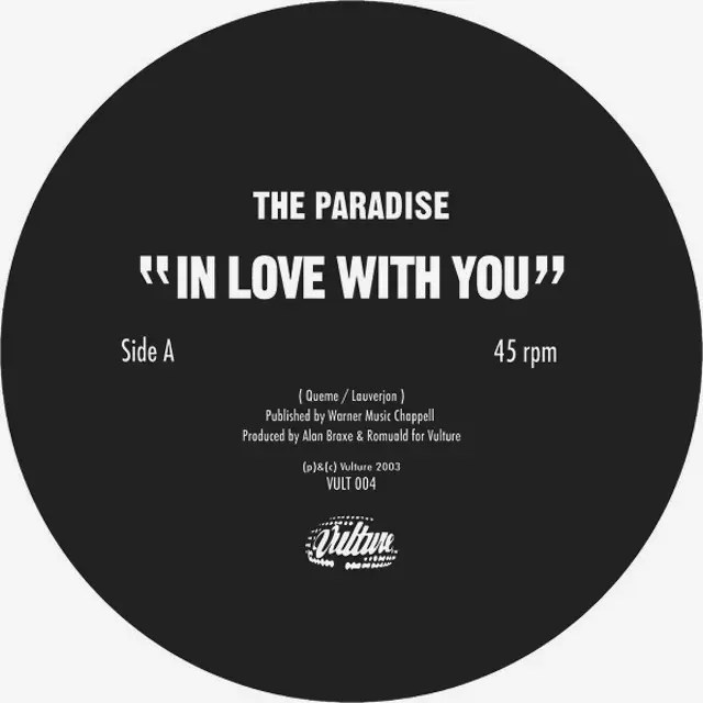 The Paradise - In Love With You (2003)