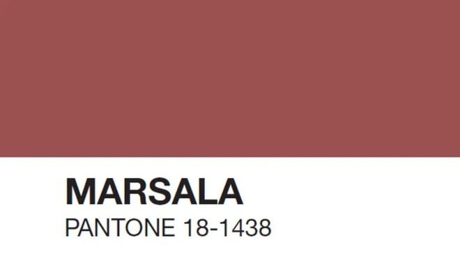 PANTONE 2015 Marsala