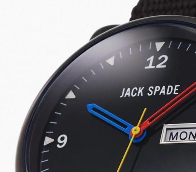 Jack Spade 可愛いミリタリー腕時計「38mm Watch Primary Hands」