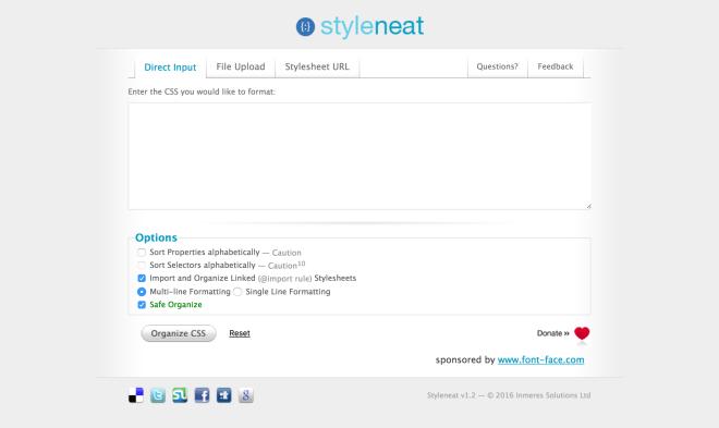 styleneat-css-organizer