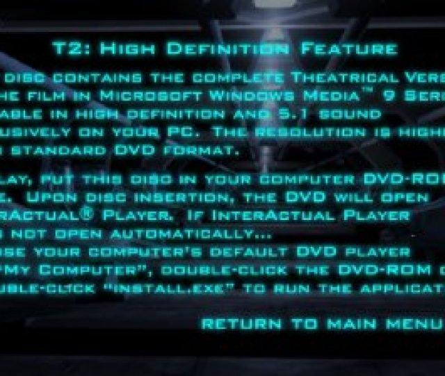 Right From The Dvd No Download Required And If Your System Software Is Configured Properly You Then See A Menu Option To Begin Playing The Movie