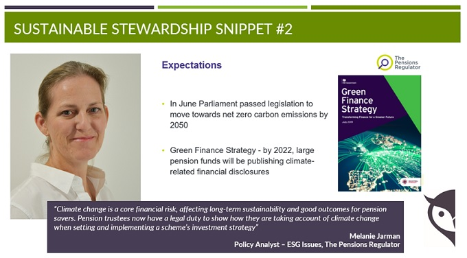 Sustainable Stewardship Snippet 2