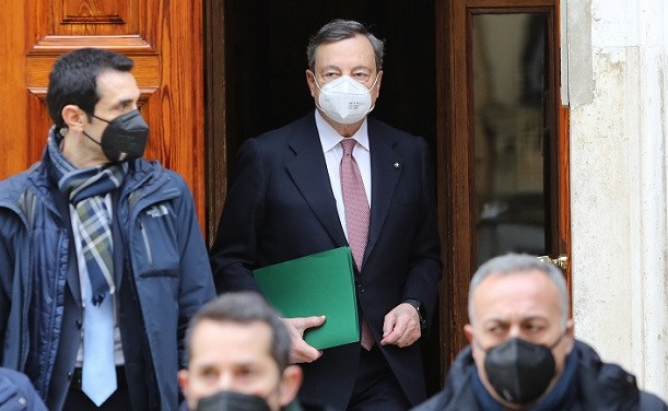 Mario Draghi forms new government in Italy