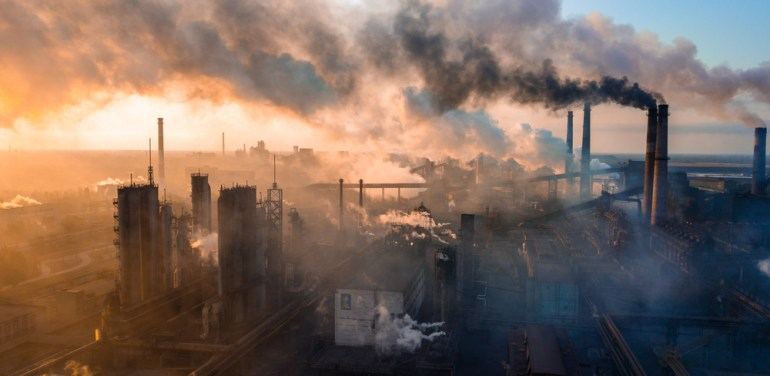 Pollution, climate