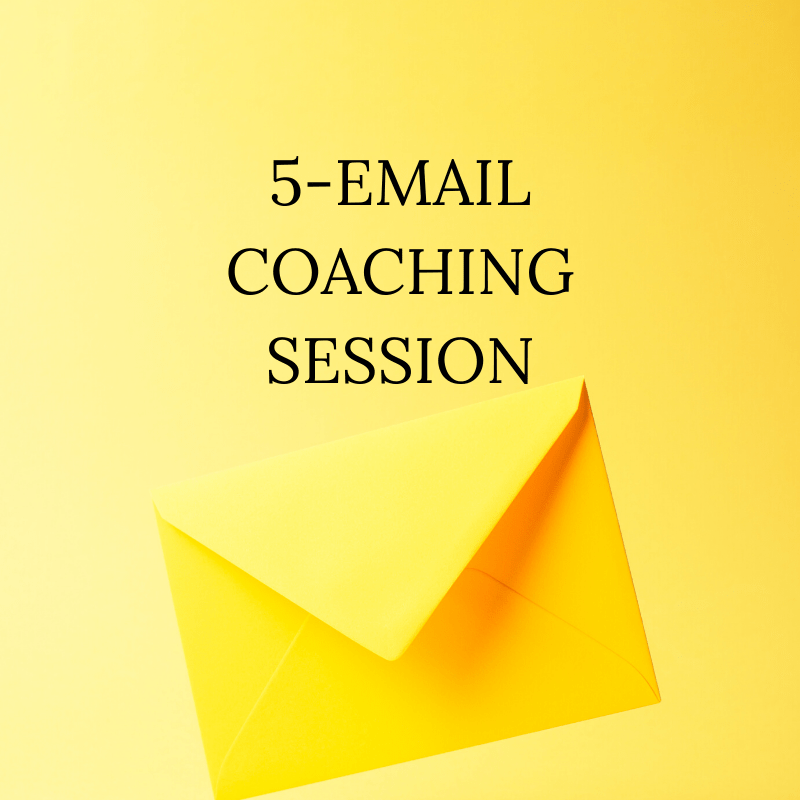 5-Email Coaching Session