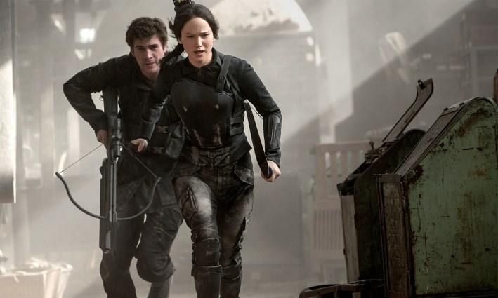 Katniss løper