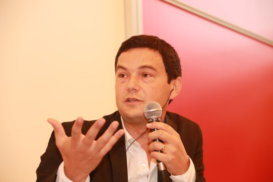 Økonom Thomas Piketty. Foto: frphoto1/flickr