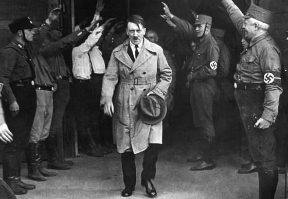 Hitler i München, 1931. Foto: Recuerdos de Pandora/Flickr