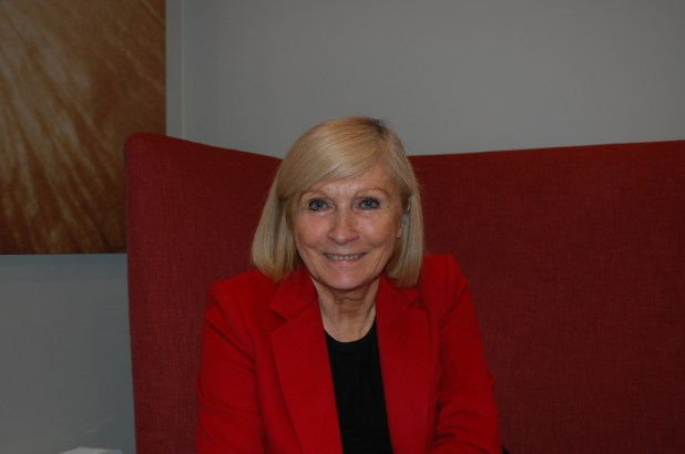Chantal Mouffe i Oslo september 2015. Foto: Anja Sletteland