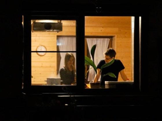 Edward Snowden og kjæresten i Moskva fra filmen CitizenFour av Laura Poitras. Foto: Praxis Films