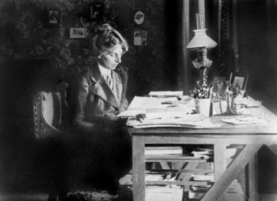 Lenins livs kjærlighet Inessa Armand. Foto: Wikimedia Commons