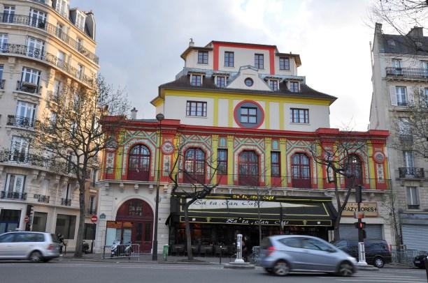 Bataclan konserthus ble åstedt for et grusomt terrorangrep fredag 13. november 2015. Her avbildet i 2008. Foto: Cecilie