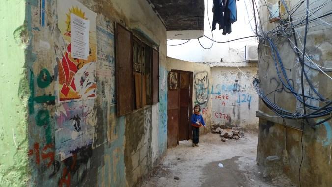 Flyktningeleiren Bourj el-Barajneh utenfor Beirut ble åsted for et terrorangrep torsdag 12. november. Stedet er en flyktningeleir for hovedsaklig palestinere. Foto: Al Jazeera English