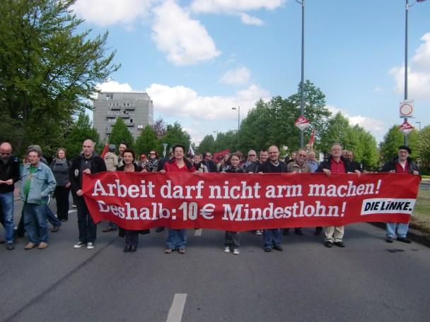 minstelønn die linke tyskland