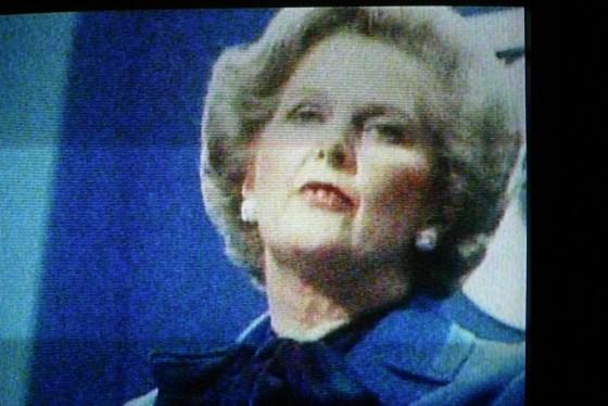 Margaret Thatcher, gründernes statsminister. Foto: Sara Joy