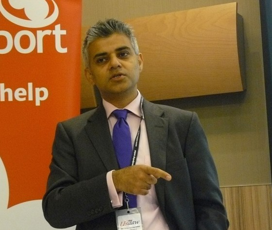 London-kandidat Sadiq Khan. Foto: Policy Exchange