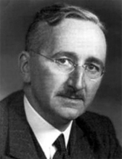 Den unge Friedrich Hayek. Foto: Wikimedia