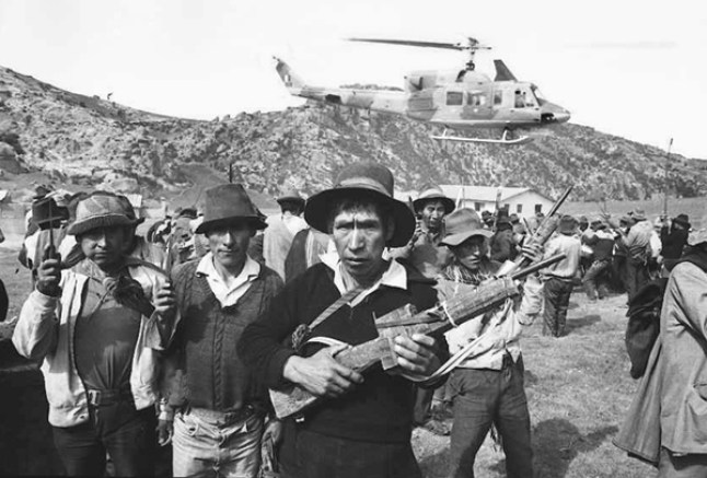 Geriljabevegelsen Sendero Luminoso, Lysende Sti, i Peru.