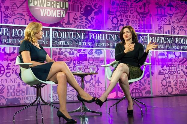 Facebook-sjef Sheryl Sandberg. Foto: Fortune Live Media