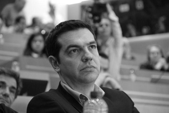 Hellas' statsminister Alexis Tsipras. Foto: Die Linke