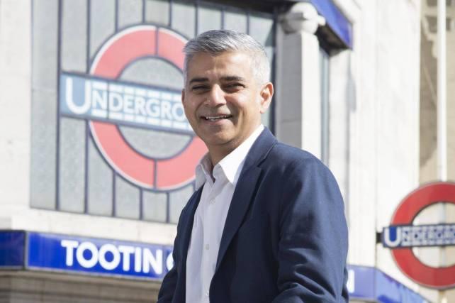 Londons nye ordfører Sadiq Khan. Foto: sadiq.london
