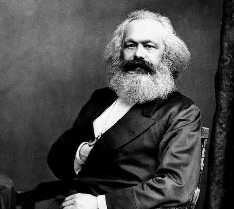 Karl Marx er en av de klassiske økonomene Shaikh bygger videre på.