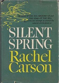 """""""Silent Spring"""" av Rachel Carson. Foto: Wikimedia"""