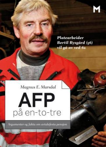 Forlaget Manifest sin første pamflett: AFP på 1-2-3 av Magnus E. Marsdal.