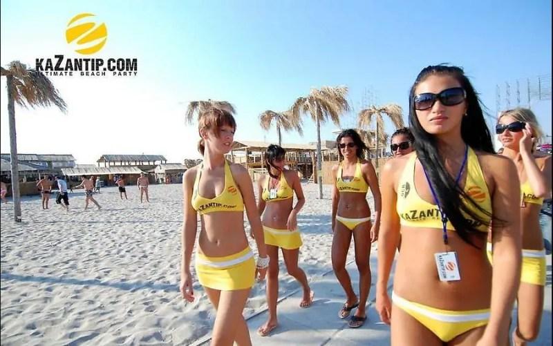 Kazantip girls