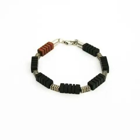 Houten armband - Margeaux
